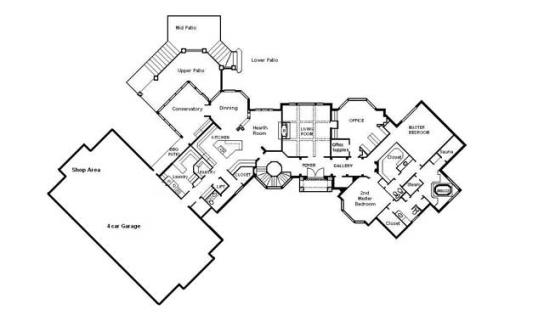 Drafting services cad building plans architectural for Cool homes floor plans